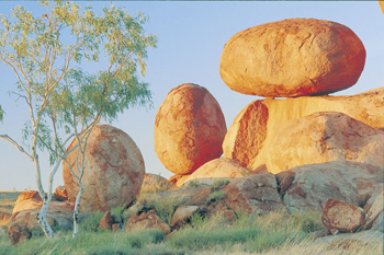 Devils Marbles on the Stuart Highway