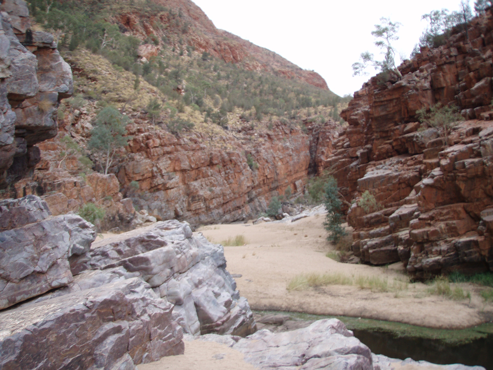 Western MacDonnell Ranges camping tours in 